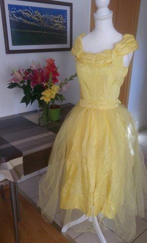 Vintage Abito da ballo giallo