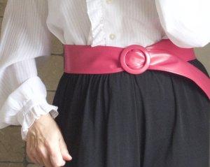Cinturón pélvico rosa Imitación de cuero