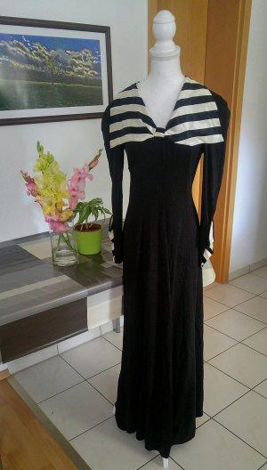 Vintage 60s Kleid stretchy beetlejuice gestreift halloween