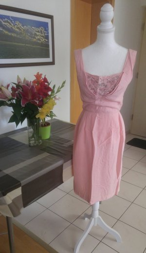 Vintage 60s Kleid wiggle Pastell Designer couture