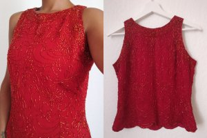 Blouse topje rood