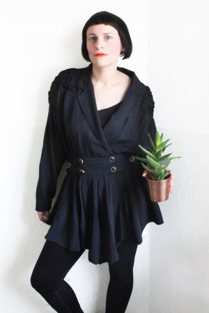 Vintage 80s Dress With Ruffles