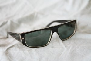 Benetton Sunglasses black synthetic material