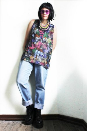 Vintage 90s Abstract Tank