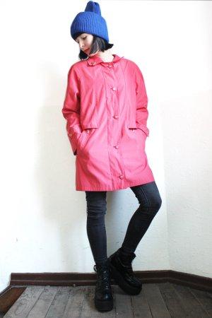 Vintage Veste chemise rouge brique