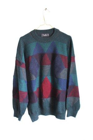 Vintage 90s Designer Saffo Wool Sweater