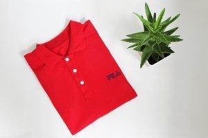 Vintage 90s Fila Polo Sports Oversize T-shirt