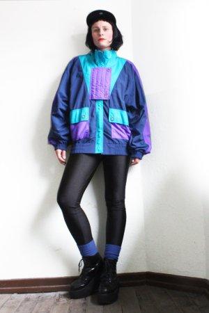 Vintage 90s Geometric Bomber Jacket