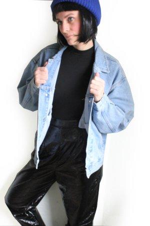 Vintage 90s Oversize Grunge Denim Jeans Jacket