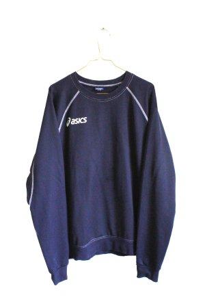 Vintage 90s Oversize Logo asics Sports Sweater