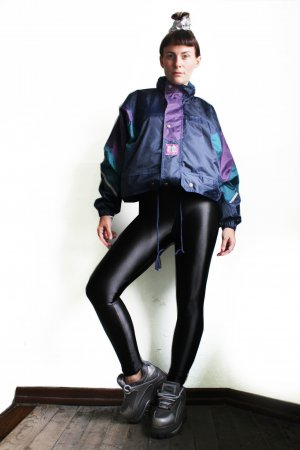 Vintage 90s Oversize Sports Festival Windbreaker Jacket