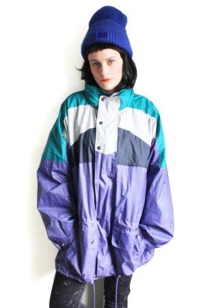 Vintage 90s Oversized Windbreaker Shell Jacket