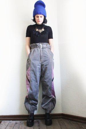 Vintage 90s Sportswear High Waist Tracksuit Ski Pants