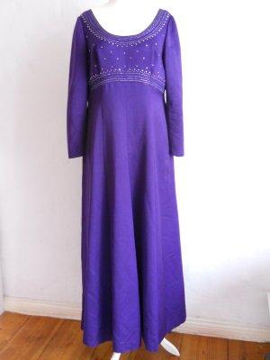 Vintage Abendkleid lila Gr. 46 A-Linie