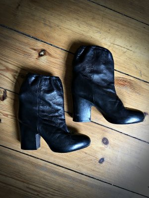 Vintage Acne Ankle Boots Leder mit Plateau 39/40 *guter Zustand*