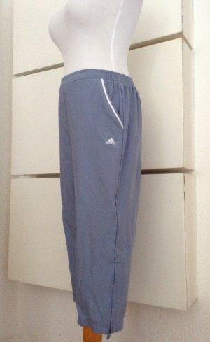 Adidas pantalonera blanco-azul celeste
