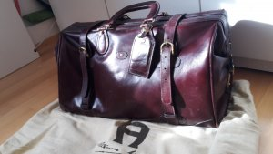 Aigner Travel Bag brown red