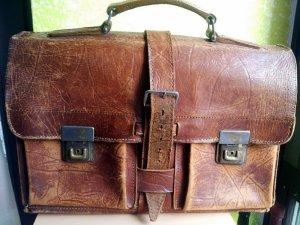 Vintage Aktentasche Lehrertasche Collegetasche100% Handmade