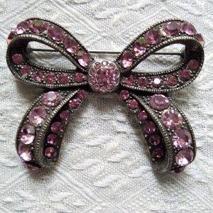 """Vintage Ansteckschleife """"Souza Jewellery"""""""
