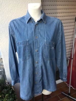 Armani Jeans Camicia denim blu