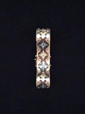 Vintage-Armband,750er Gold, dreifarbig