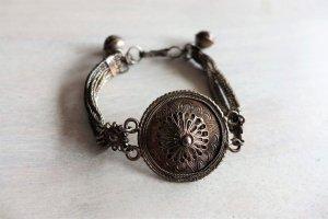 Vintage Armband Boho Ethno Tracht Dirndl silber filigran
