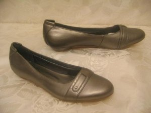 Vintage Ballerina Pumps LAURA SCOTT Größe 39 Metallic