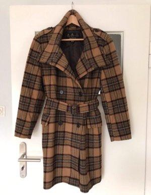 Barbour Cappotto in lana marrone chiaro