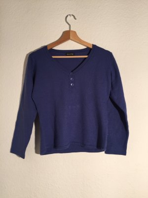 Wool Sweater dark blue