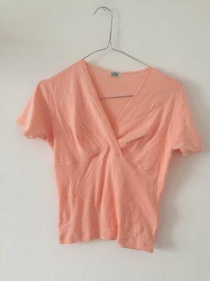 Vintage Baumwollshirt von Palmers Pfirsichfarben XS T-Shirt