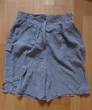 Vintage Betty Barclay Shorts kurze Hose schwarz weiß Gr. 38