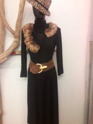 Vintage Betty Barcley Kleid schwarz Gr 38