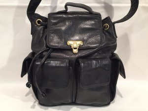 DKNY Pouch Bag black leather