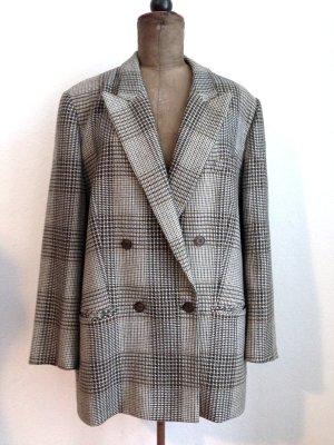 Vintage Blazer aus Schurwolle von Delmod, Gr. 46, cooler Oversize Look ab Gr. 40