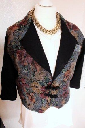 Vintage Blazer - Blumenmuster