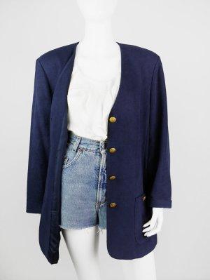 Vintage Blazer mit Goldknöpfen