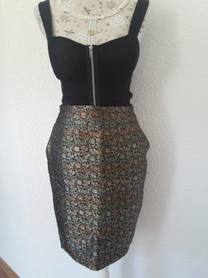 Pencil Skirt gold-colored