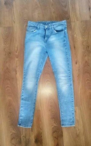 Vintage blue Levis high rise skinny
