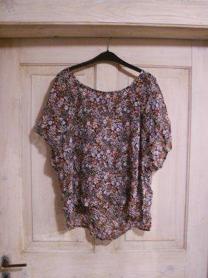 Vintage blümchen Bluse