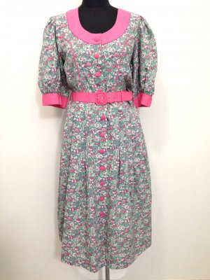 Vintage Blümchenkleid, Gr.40/42