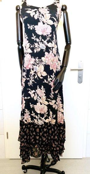 beclaimed vintage Maxi-jurk roségoud-zwart