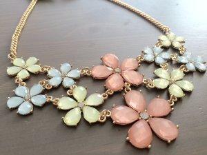 Vintage Blumen Halskette für Hochzeit/ Party