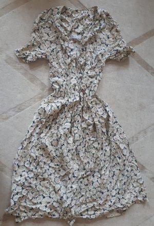 Vintage Blumenkleid Midi
