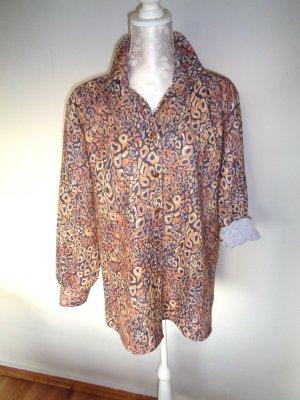 Vintage Bluse - Brauntöne