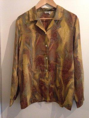 Vintage Bluse mit aufregendem Druck