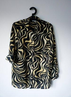 Vintage-Bluse mit Muster