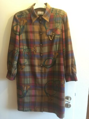 Vintage Blousejurk veelkleurig Polyester