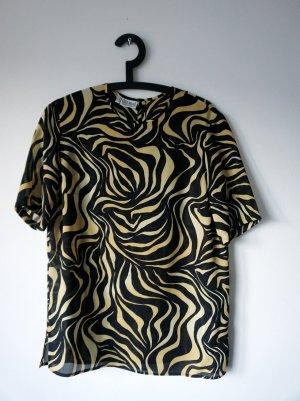 Vintage-Blusenshirt mit Muster