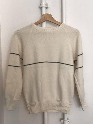 Bogner Kraagloze sweater licht beige-khaki