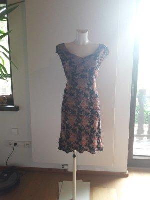 Vintage Babydoll-jurk veelkleurig